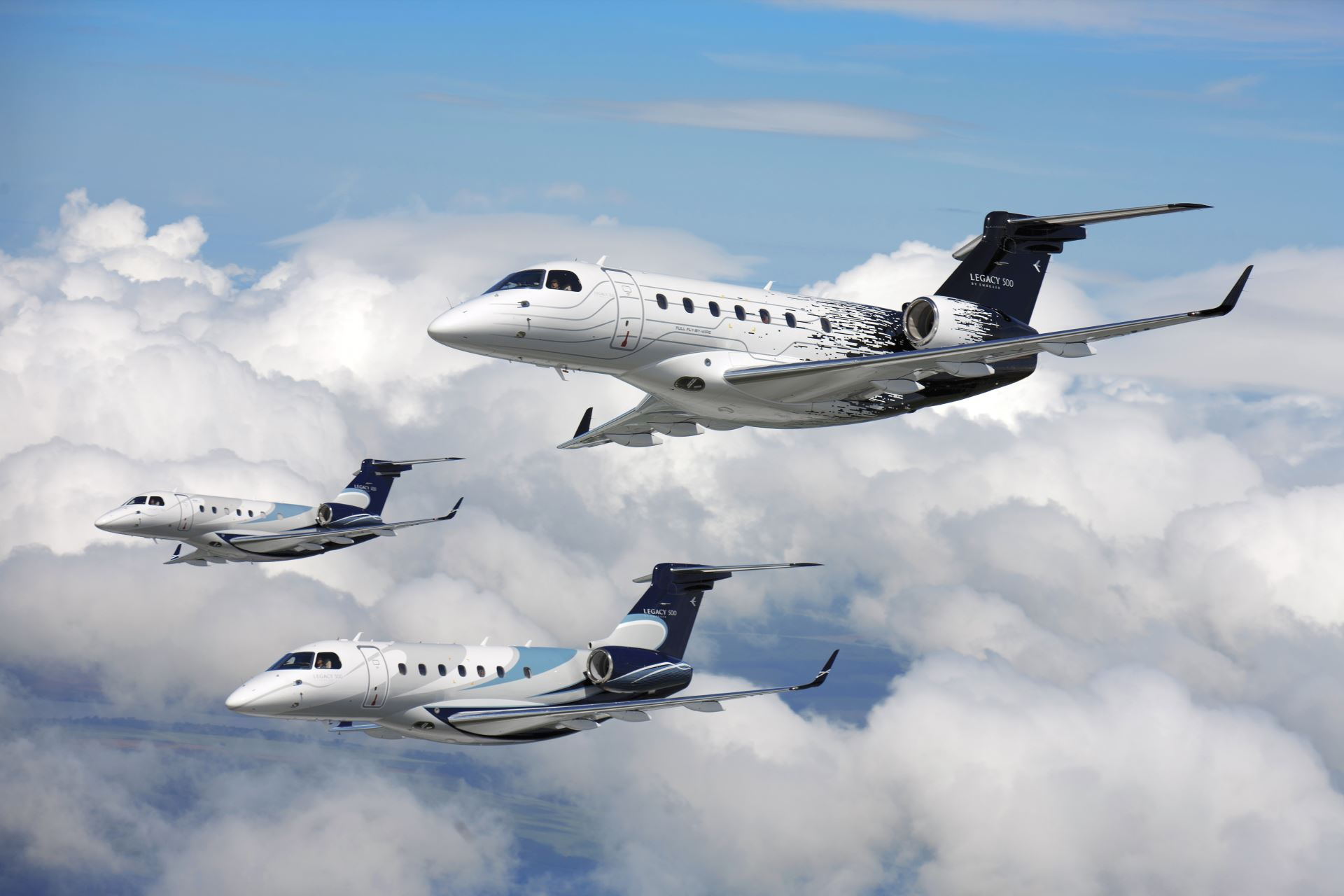 Legacy 500 jets