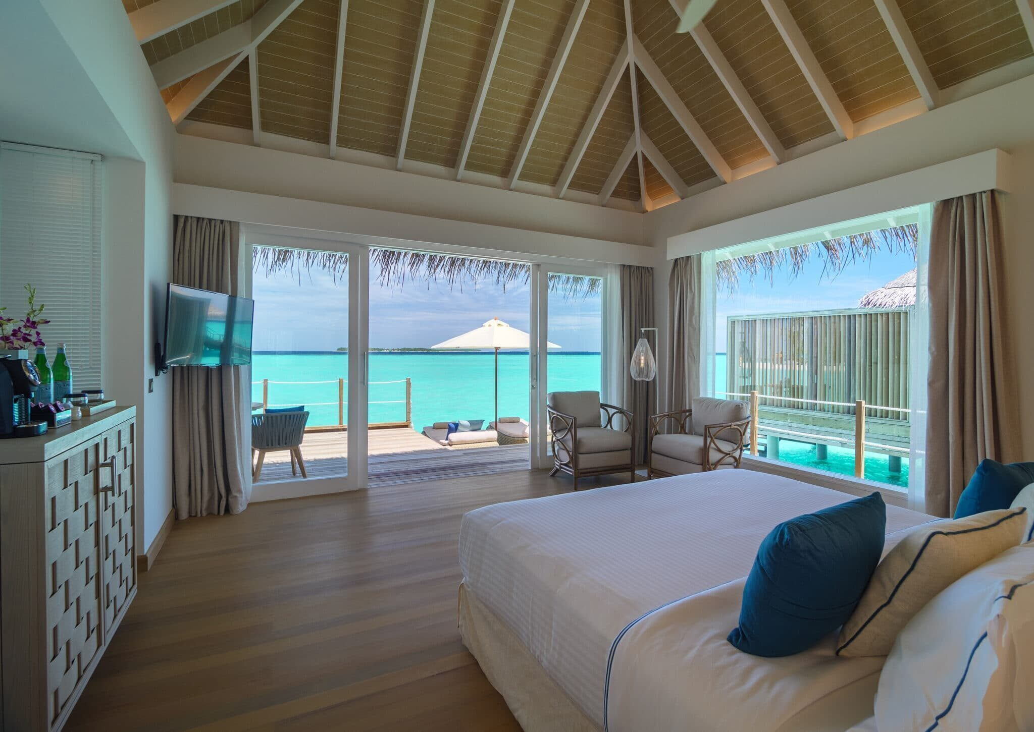 Italian spirit in the Maldives: Baglioni Resort