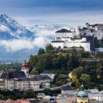 Dusseldorf - Salzburg flight