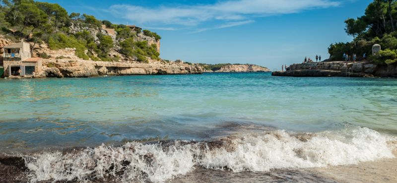 Cala Llombards beach Mallorca, Spain